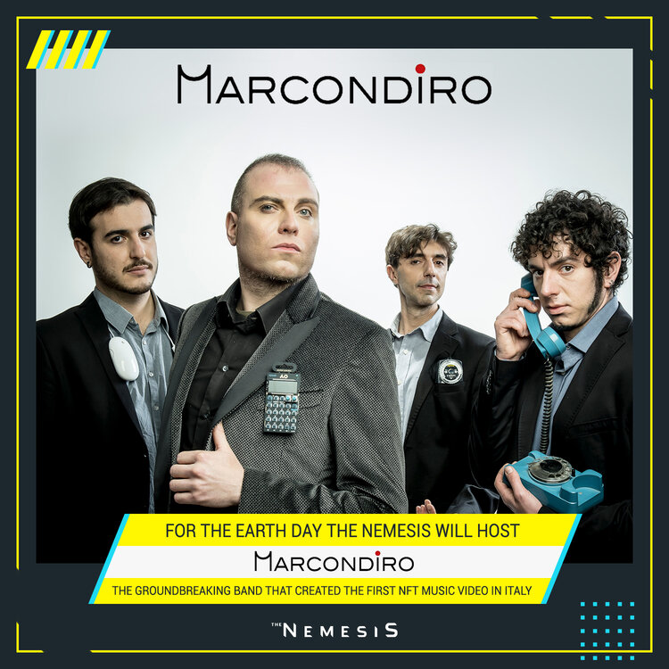 The Nemesis Platform To Host Marcondiro live music stream