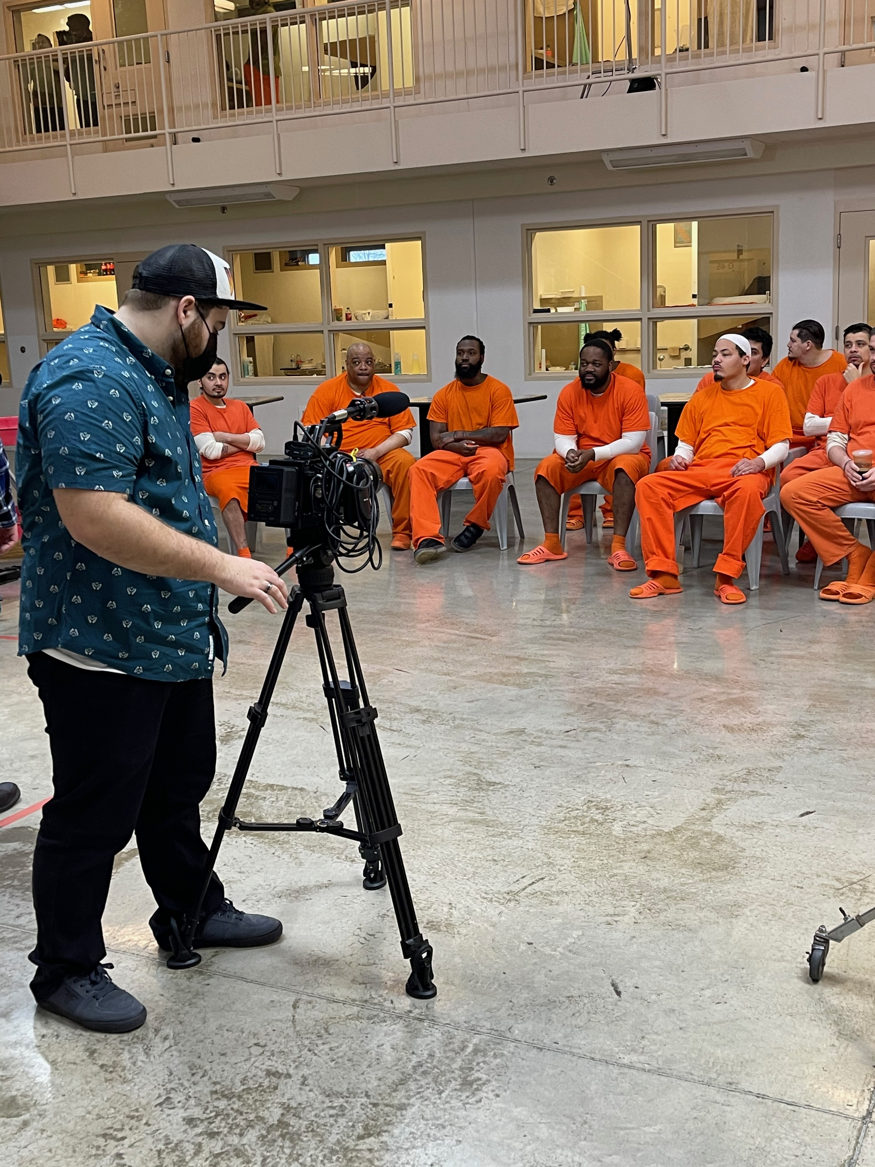 "Skinfly Entertainment's Lyle Howry and Jason Rainwater dive deep into the prison world in a new docuseries on criminal justice reform titled ""A Prisoner's Path"""