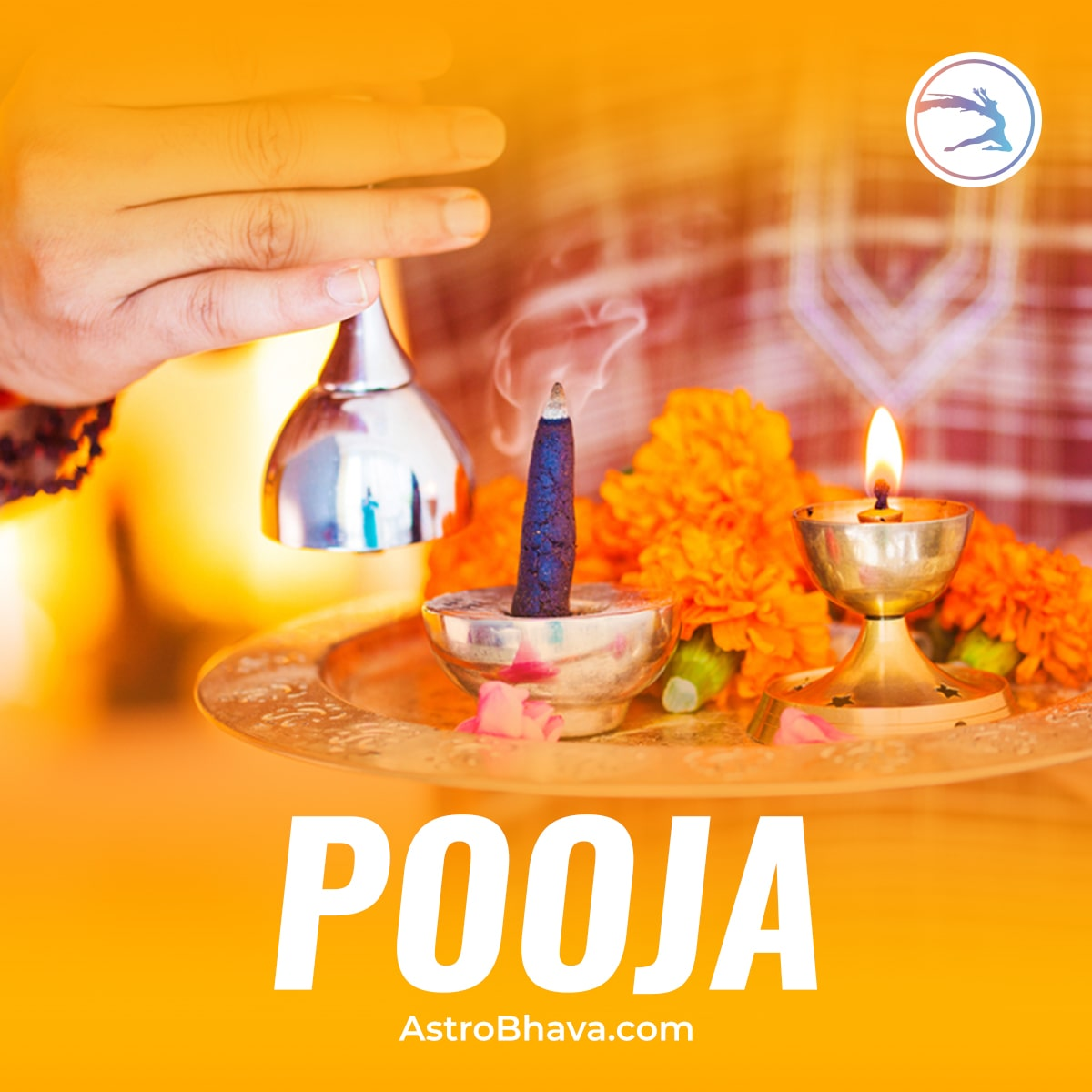 God's blessings through E-pooja services from AstroBhava