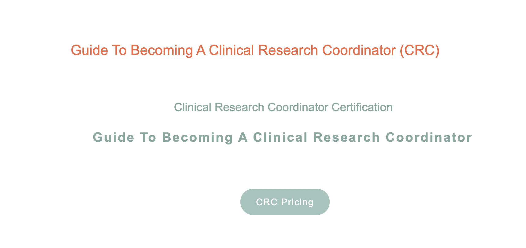 CCRPS Offers Updated Advanced Clinical Research Coordinator Certification Course (ACCRC) for Exceeding Clinical Research Training Compliance