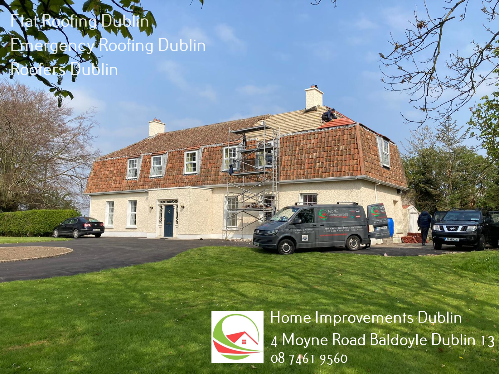 Home Improvements Dublin Officially Opens A New Business Profile On Google, Roof Repairs Dublin To Service Dublin 15 & Surrounding Areas