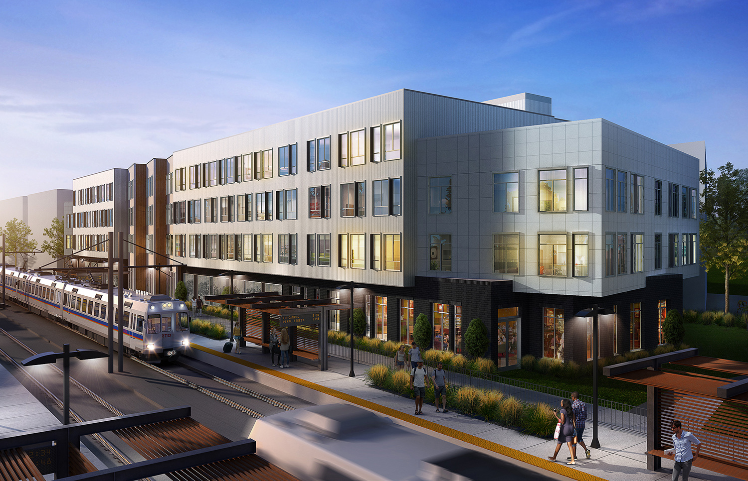 The John Buck Company and Element Properties Break Ground on New, KTGY-Designed Sustainable 86-Unit Apartment Community in Boulder's Transit-Oriented S'PARK Neighborhood
