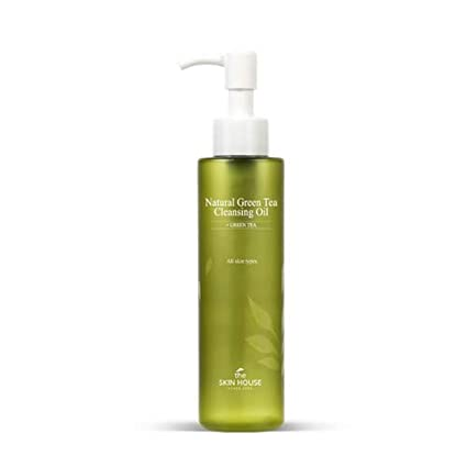 The Skin House Natural Green Tea Cleansing Oil for Skin Rejuvenation Available on Amazon