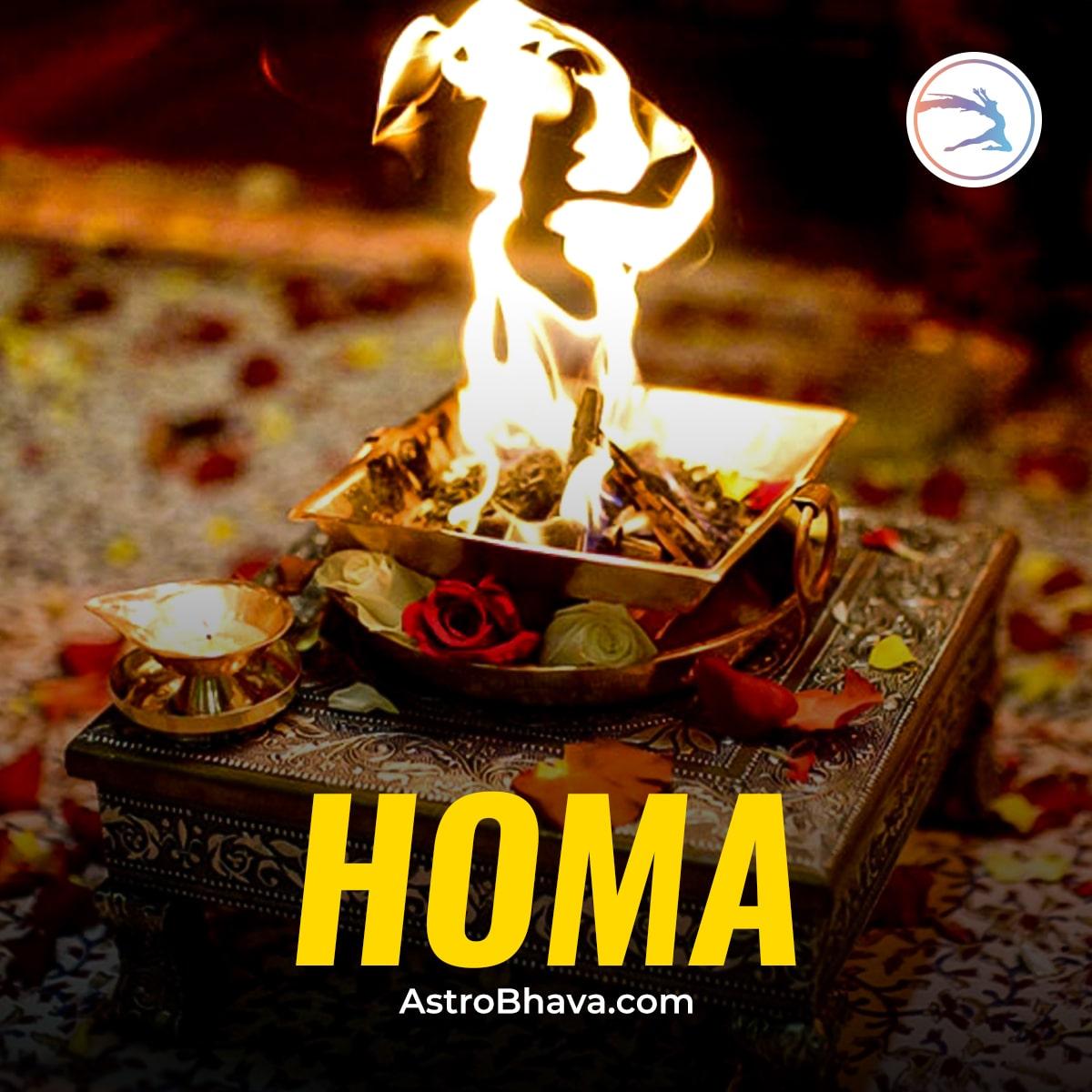 Dissociate Materialistic and Spiritualistic Obstructions through Vedic Homa Ritual