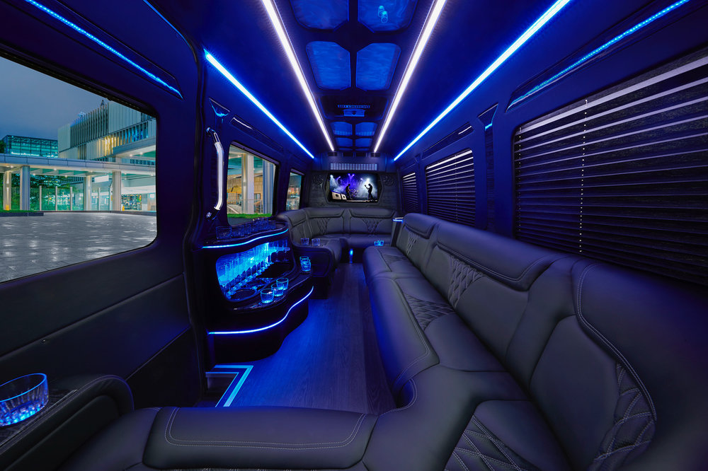 Mercedes-Benz Sprinter Added to the Luxury Fleets of Eddie Limo Services