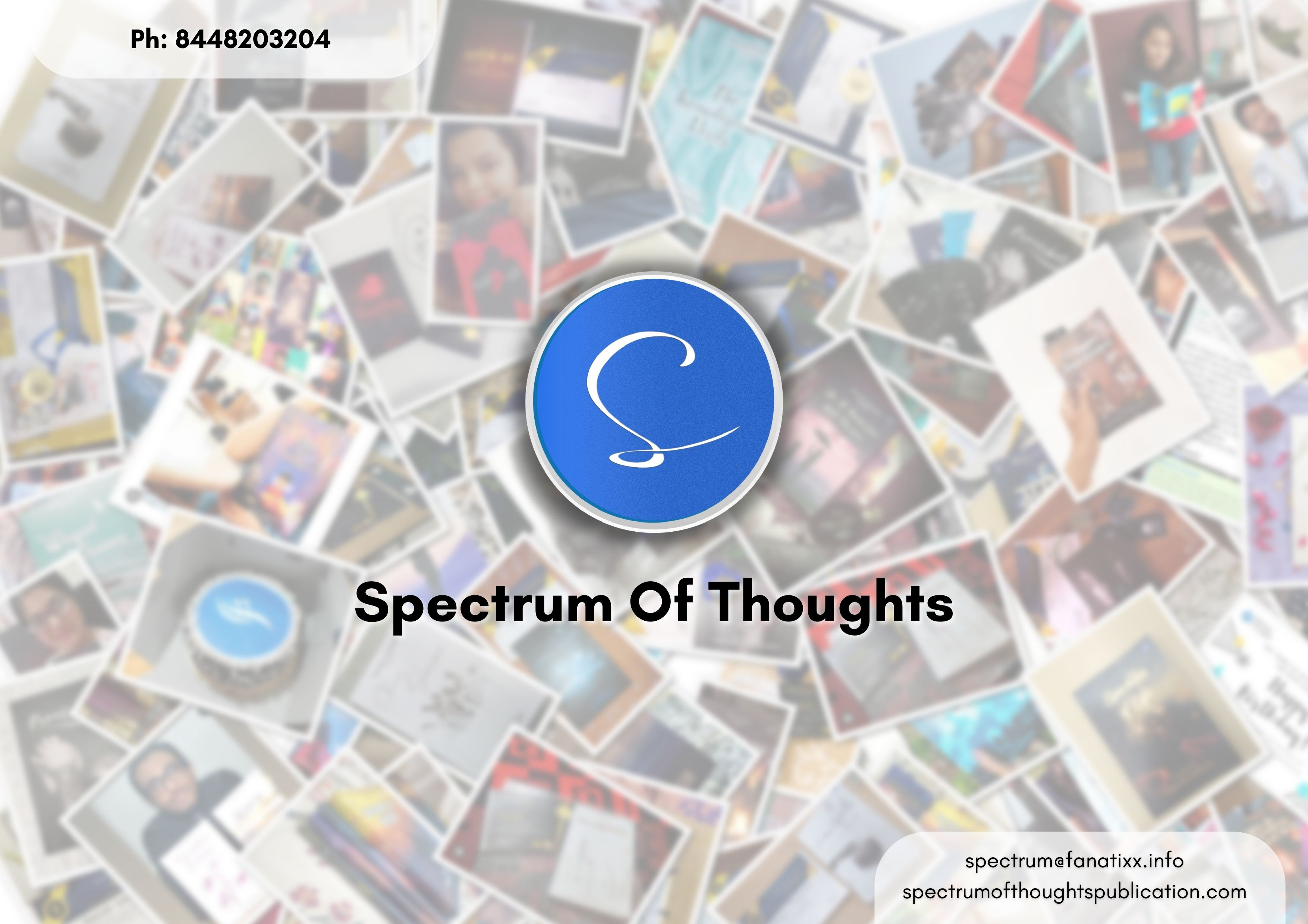 Spectrum of Thoughts Publication launches 40 Book this June, publishing 1200+ budding writers round the globe