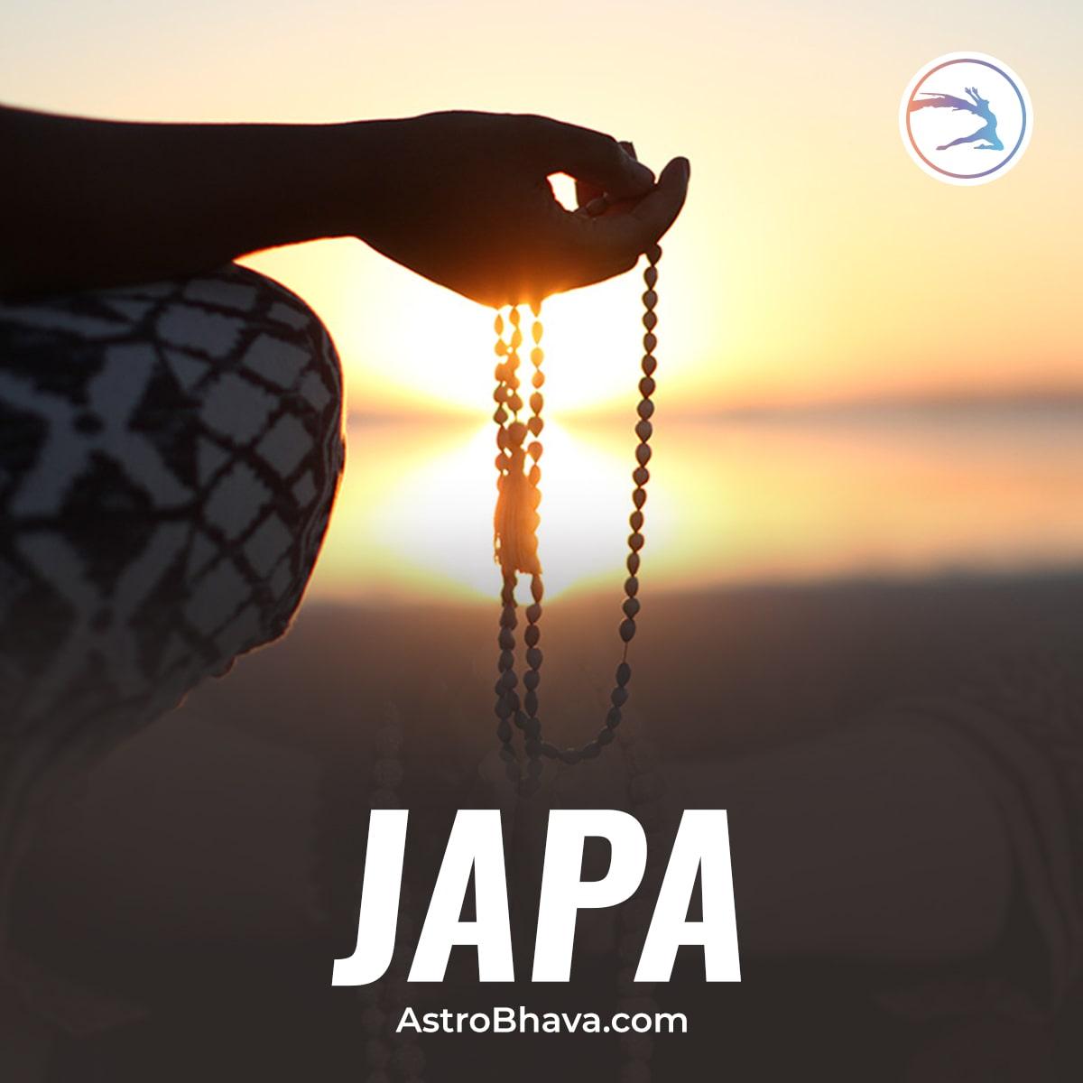 Mantra Japa - Hindu Vedic Approach to Dissociate from Negativities