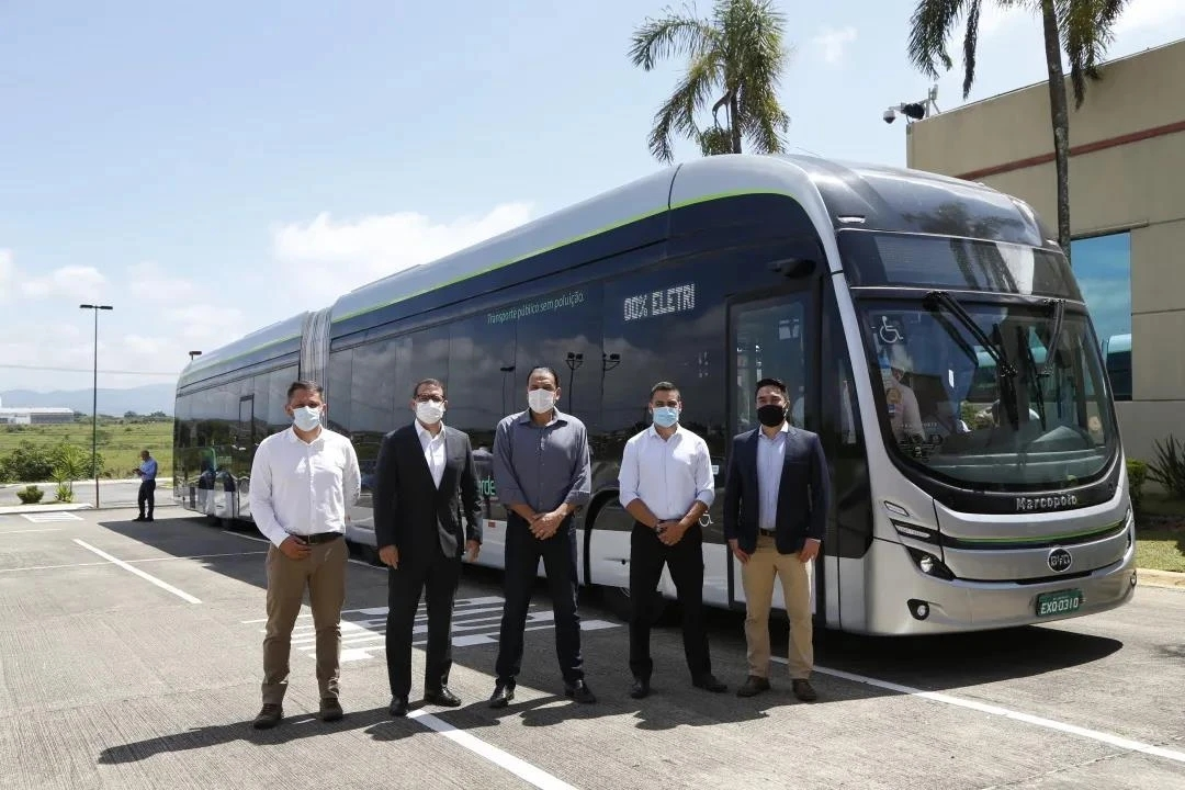 SONGZ provides air conditioning for BYD's 22-meter pure electric hinged bus