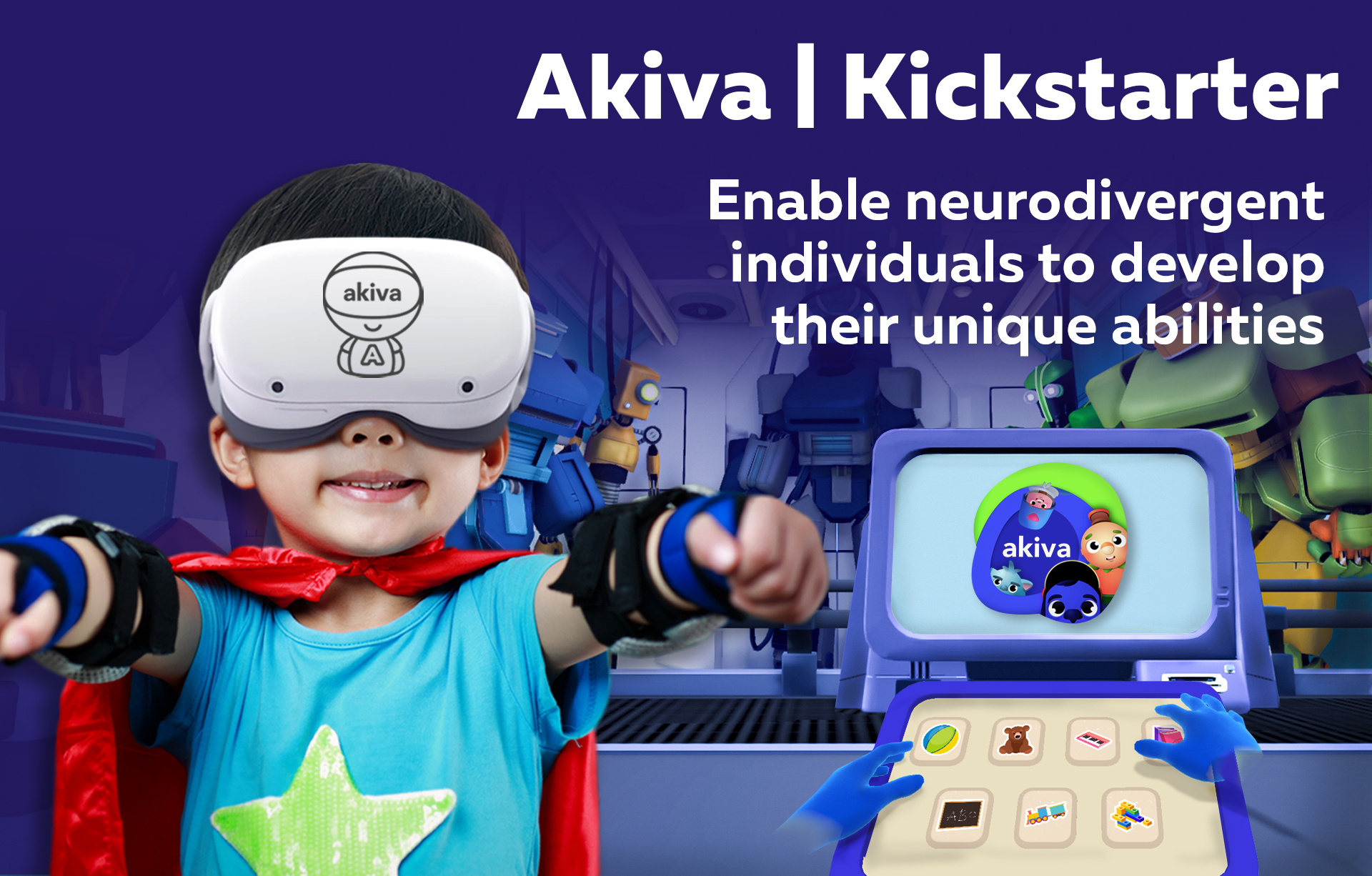 Akiva Systems Launches Kickstarter Campaign for Neurodivergent Individuals