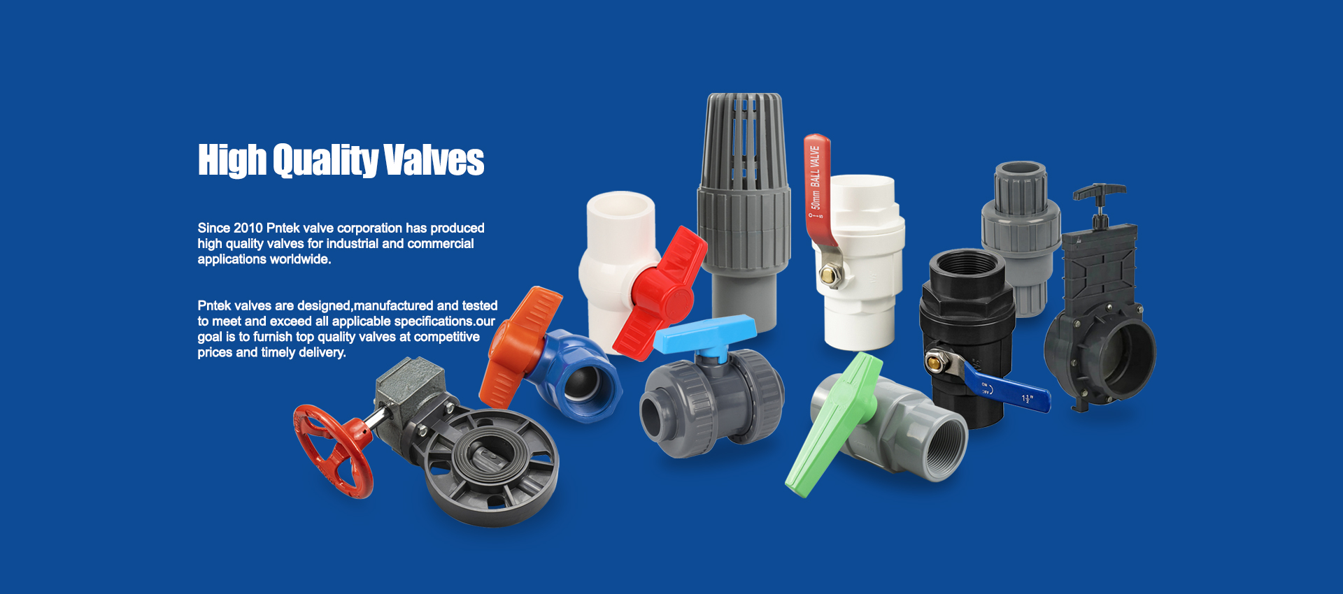 The usage and value of Plastic ball valve.