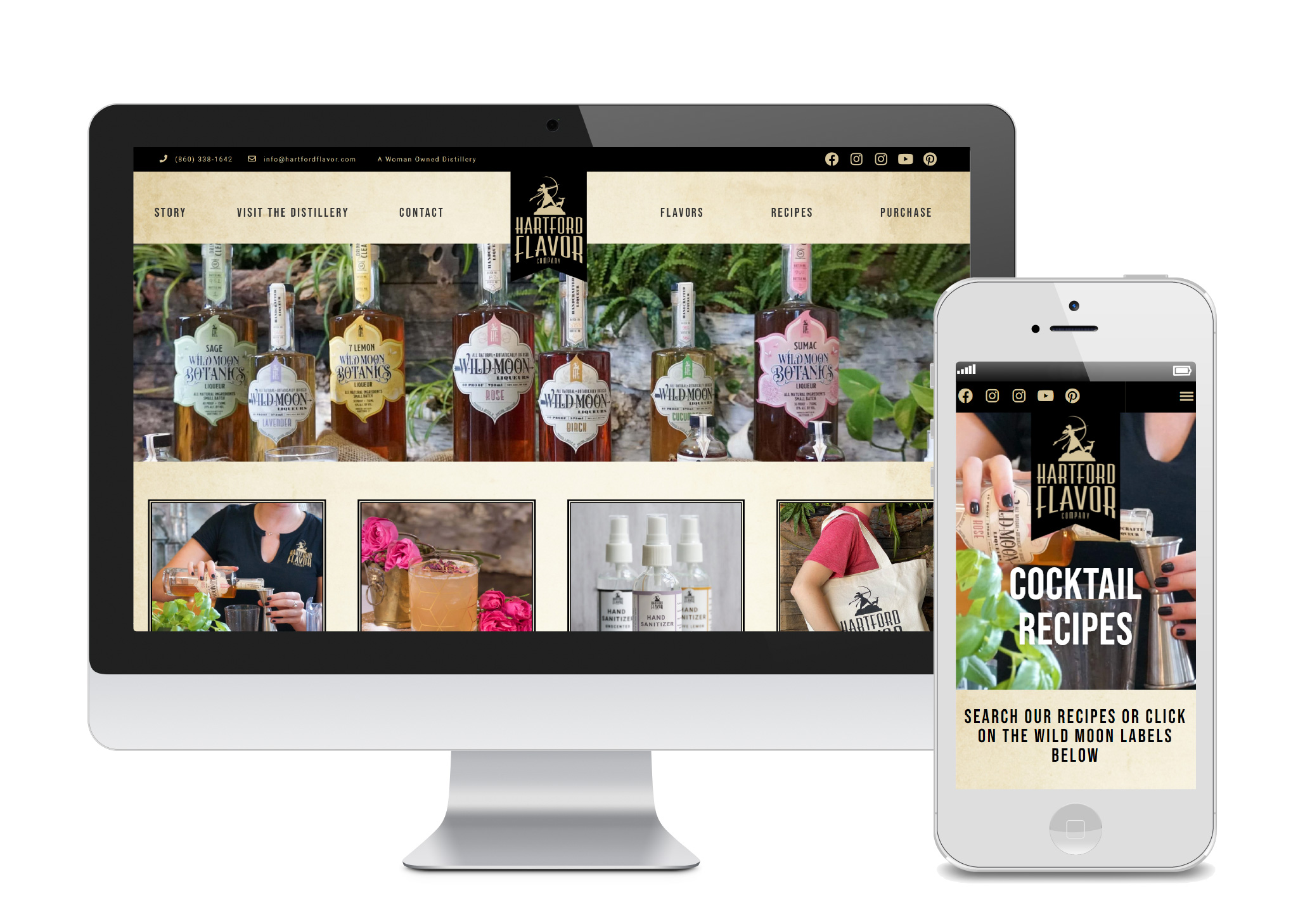 Hartford Flavor Company Launches New Website