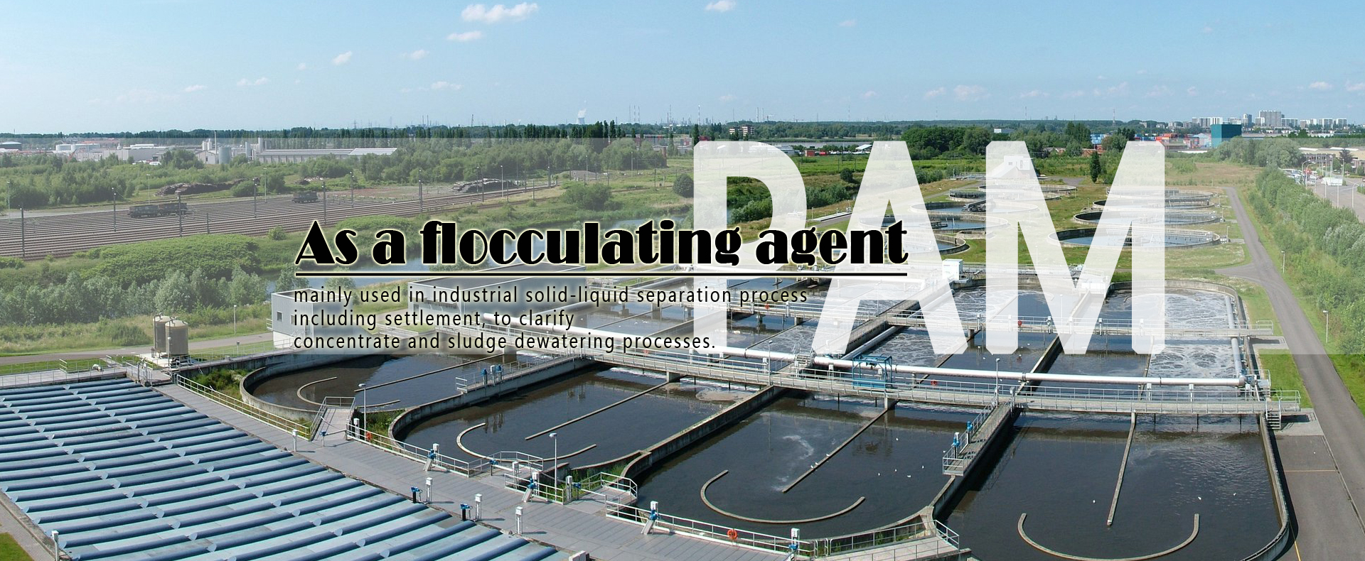 The role of flocculant in sewage treatment