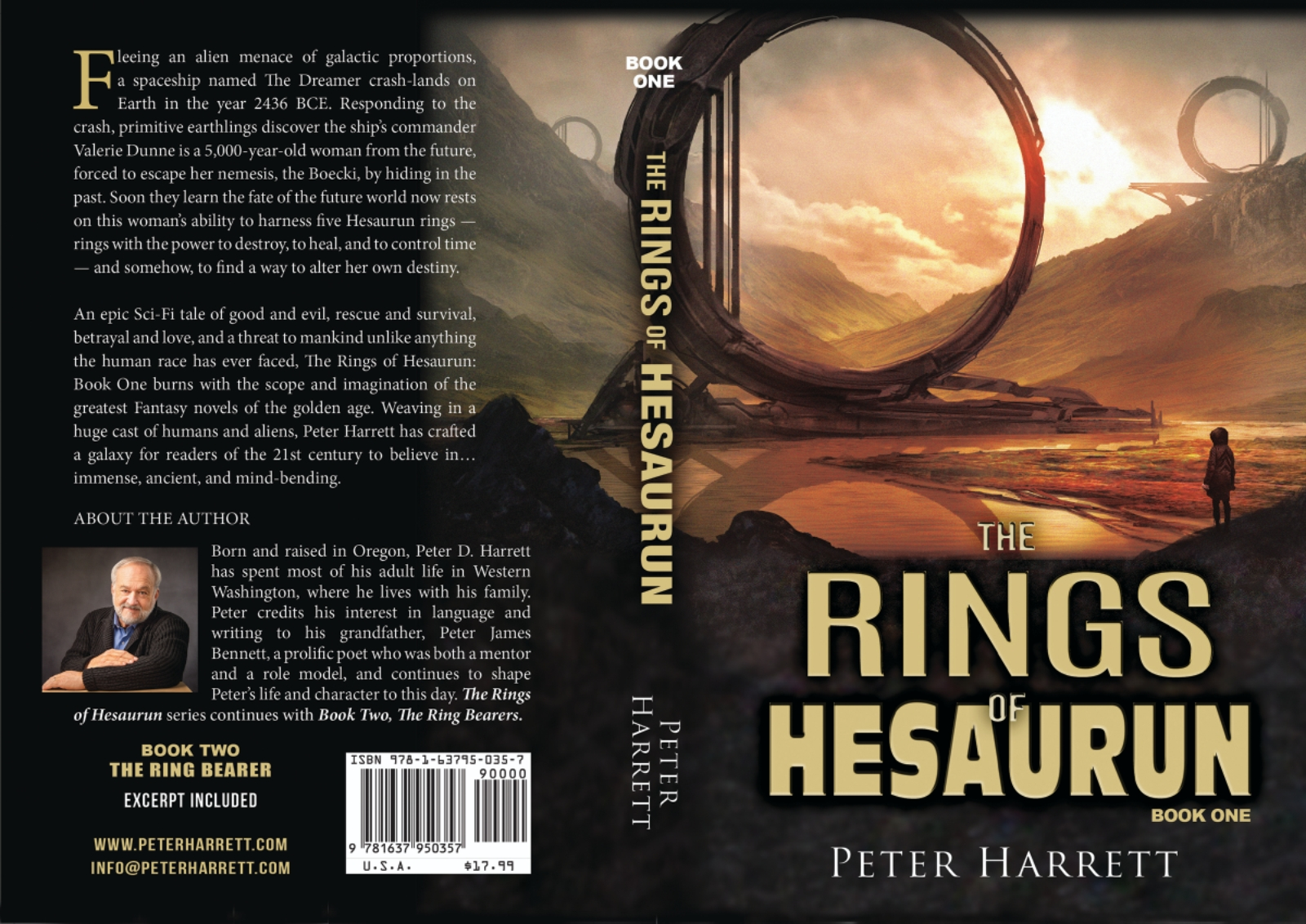 Peter Harrett To Release Part 2 Of His Fantasy Series, The Ring Of Hesaurun In The Summer