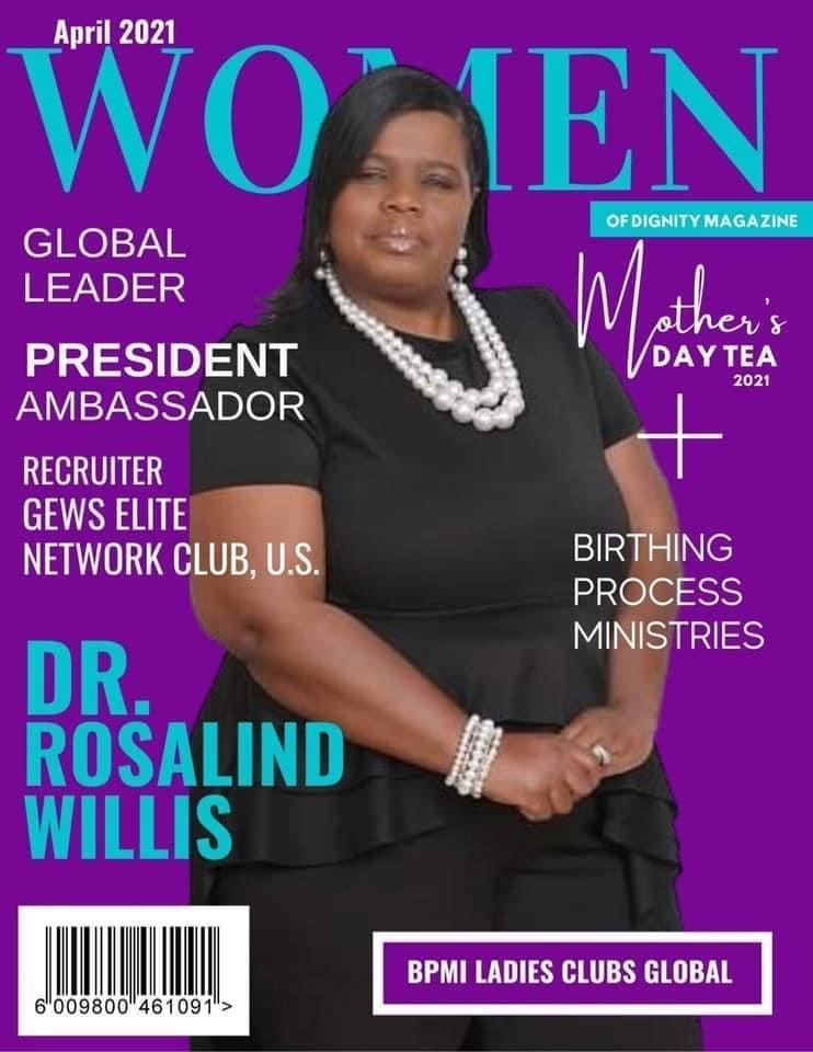 Founder of BPMI Ladies' Club Empowerment, Dr Rosalind Willis Named President Ambassador for GEWS