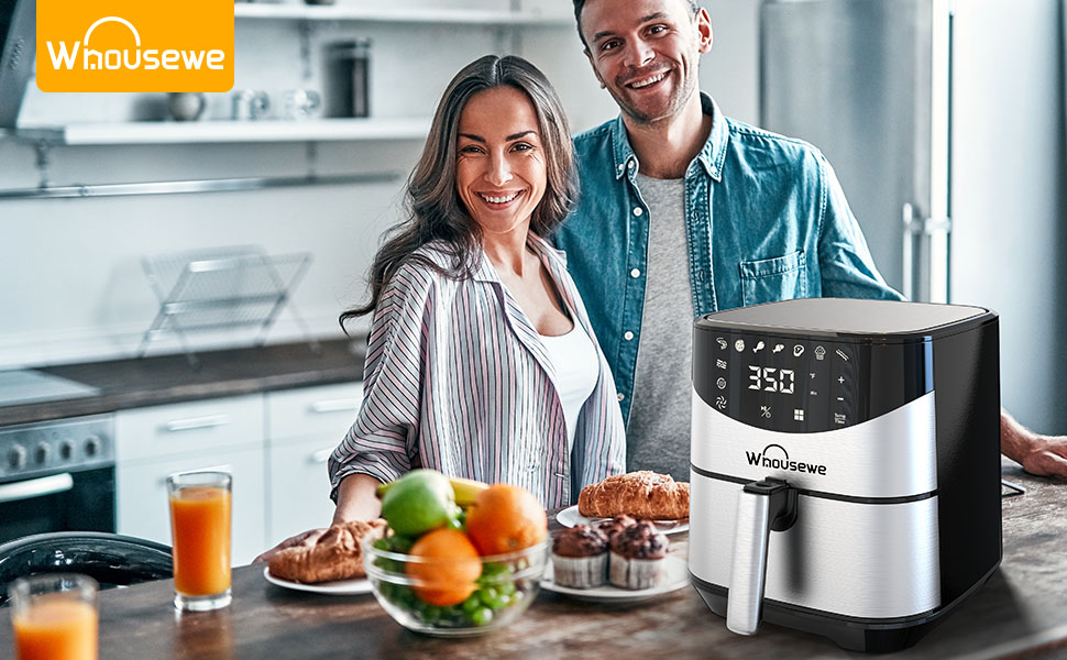 Whousewe Stocks New Air Fryer: Large XL 5.8 QT Electric Hot Oven