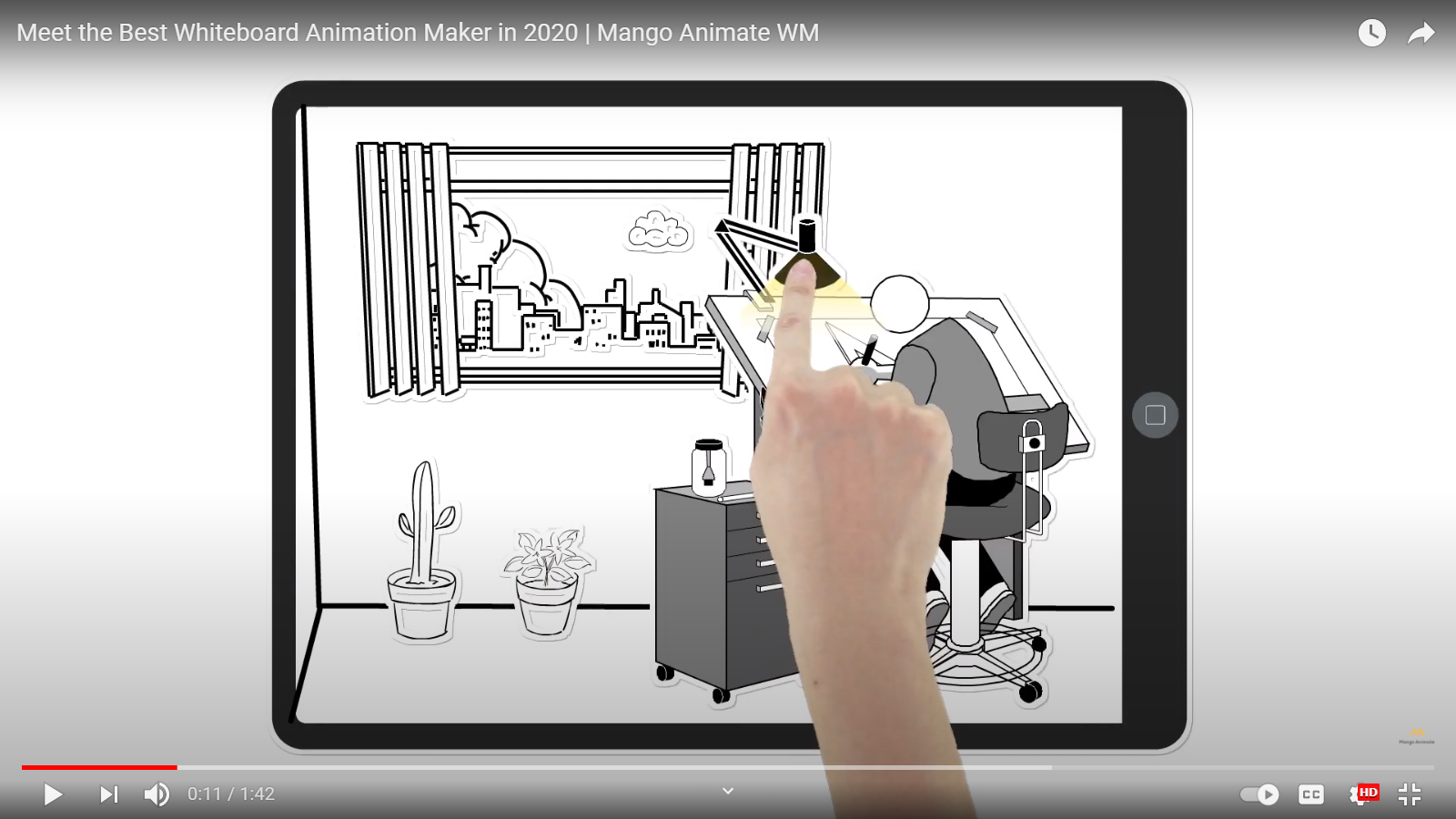Mango Animate Hosts the Best Whiteboard Animation Software in the Market