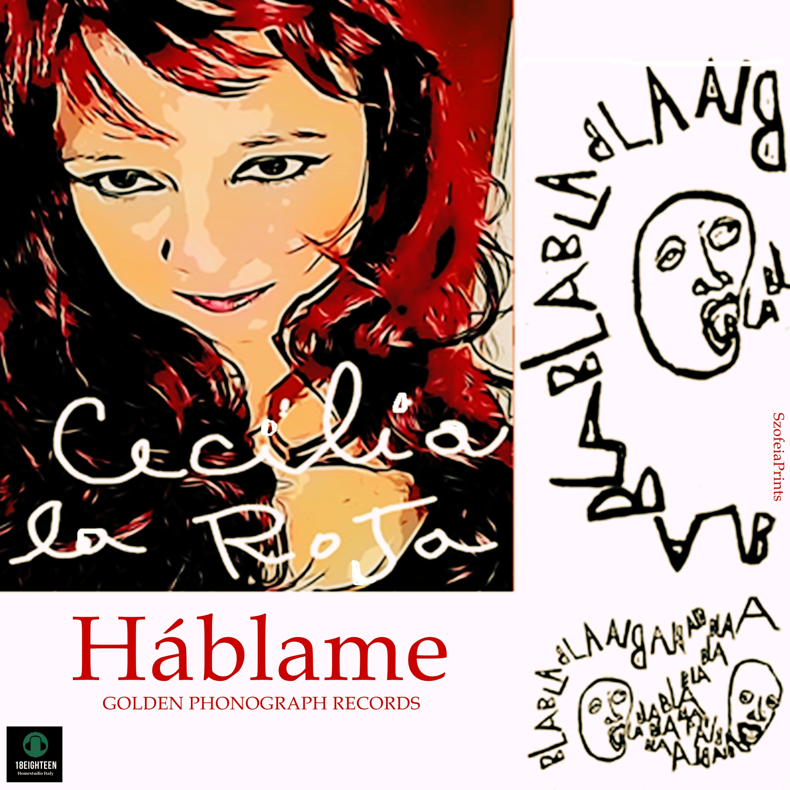 HABLAME (GOLDEN PHONOGRAPH Records) the new single track by Cecilia La Roja from June 12th 2021 on all radios