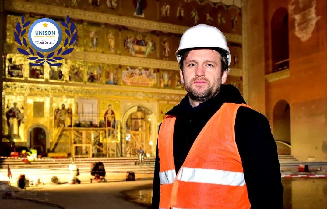 Romania People's Salvation Cathedral set up new world record for Largest Orthodox Iconostasis