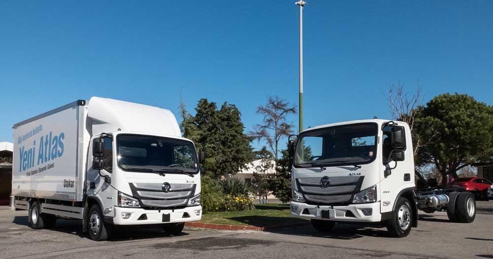193 Euro-VI Compliant AUMARK S Trucks Delivered to Turkey.