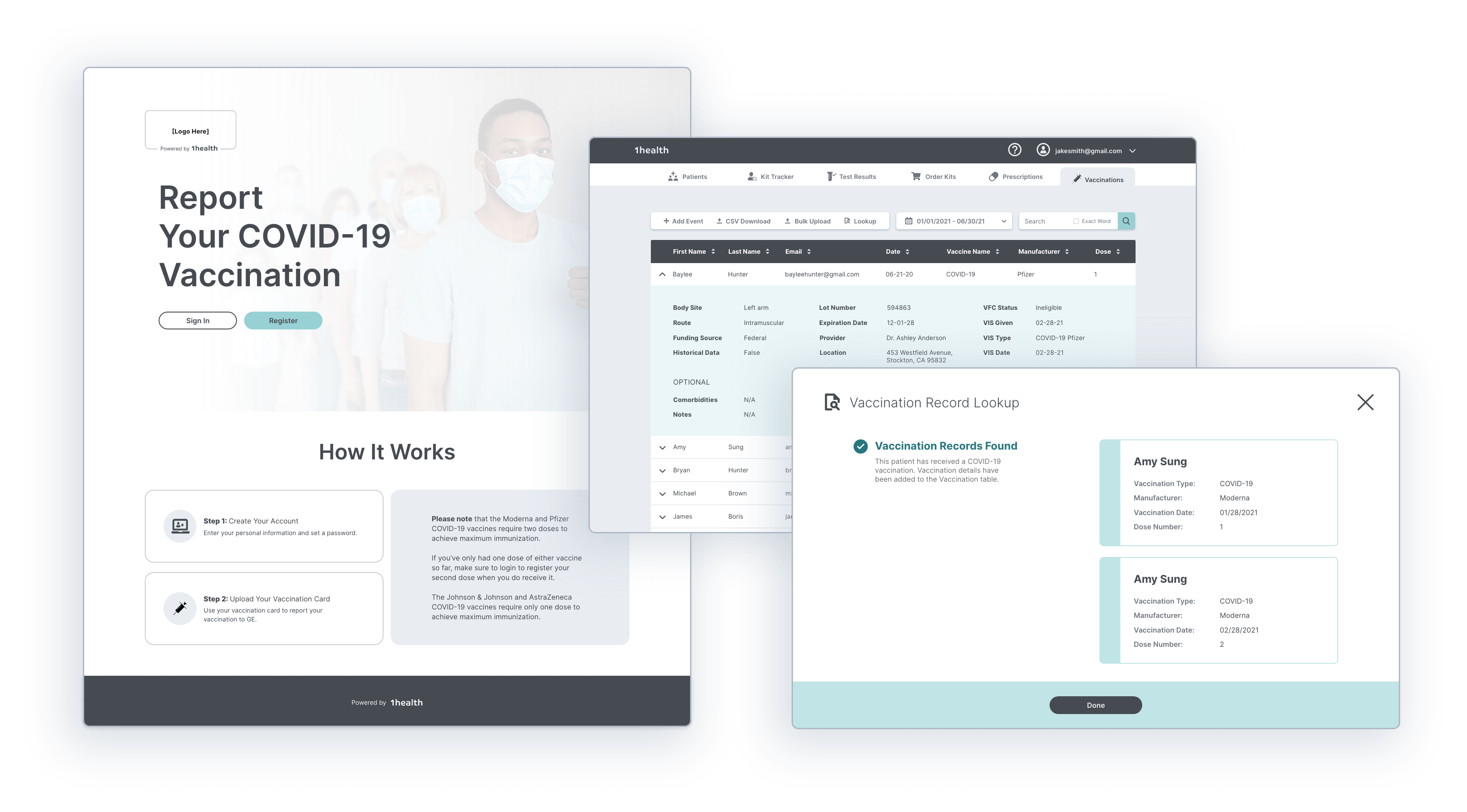 """1health Announces First-of-its-kind """"Safe & Clear"""" Software Platform to Simplify Vaccination Tracking and Verification for Organizations"""