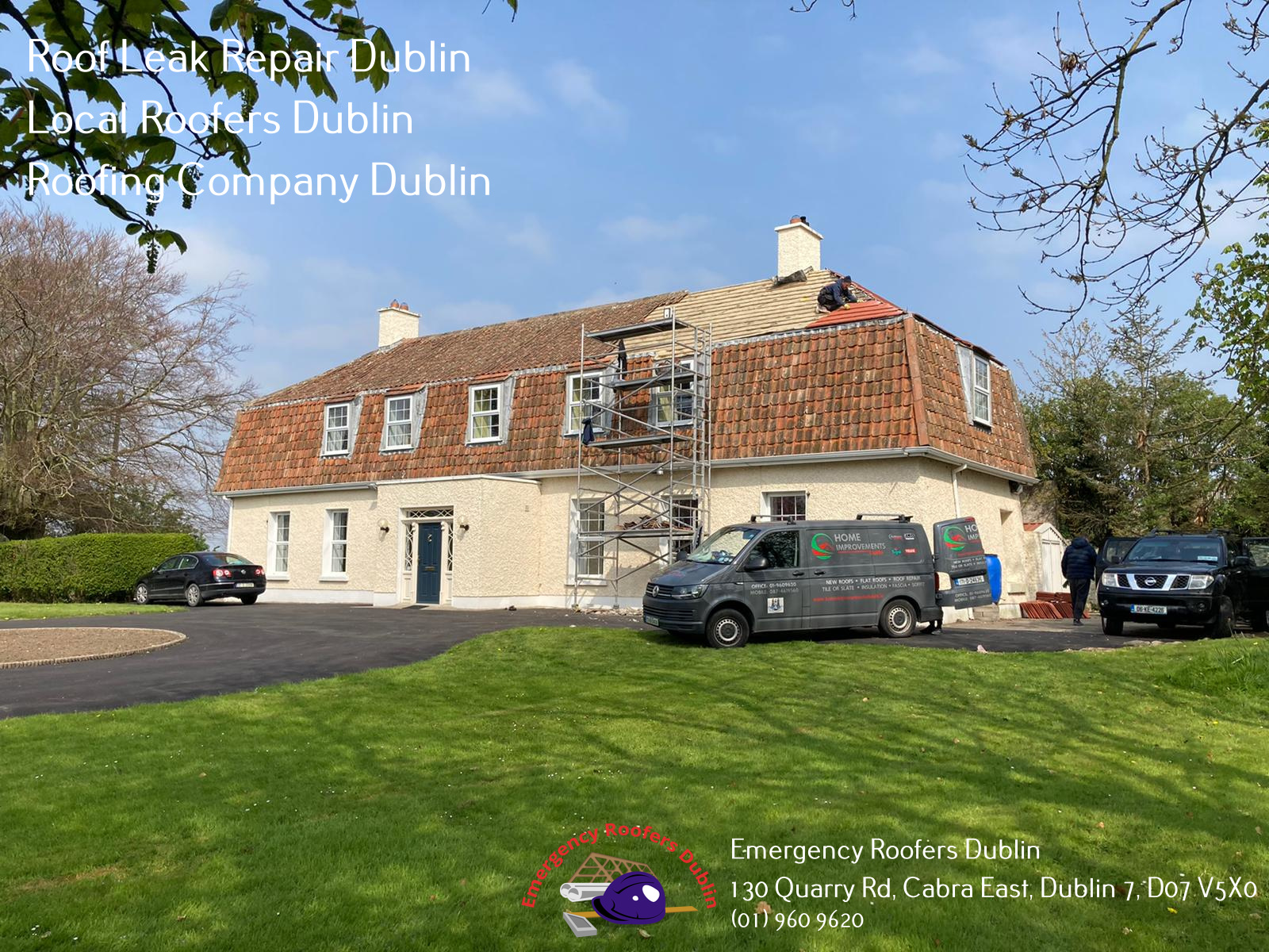 Emergency Roofers Dublin Officially Opens A New Business Profile On Google, Roof Repairs Dublin (Emergency Roofers Dublin), To Service Dublin 1 and Surrounding Areas