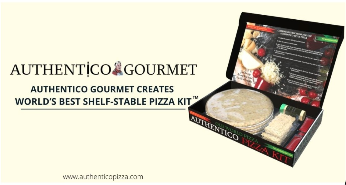 Authentico Gourmet Creates World's Best Shelf-Stable Pizza, Creates buzz in the market