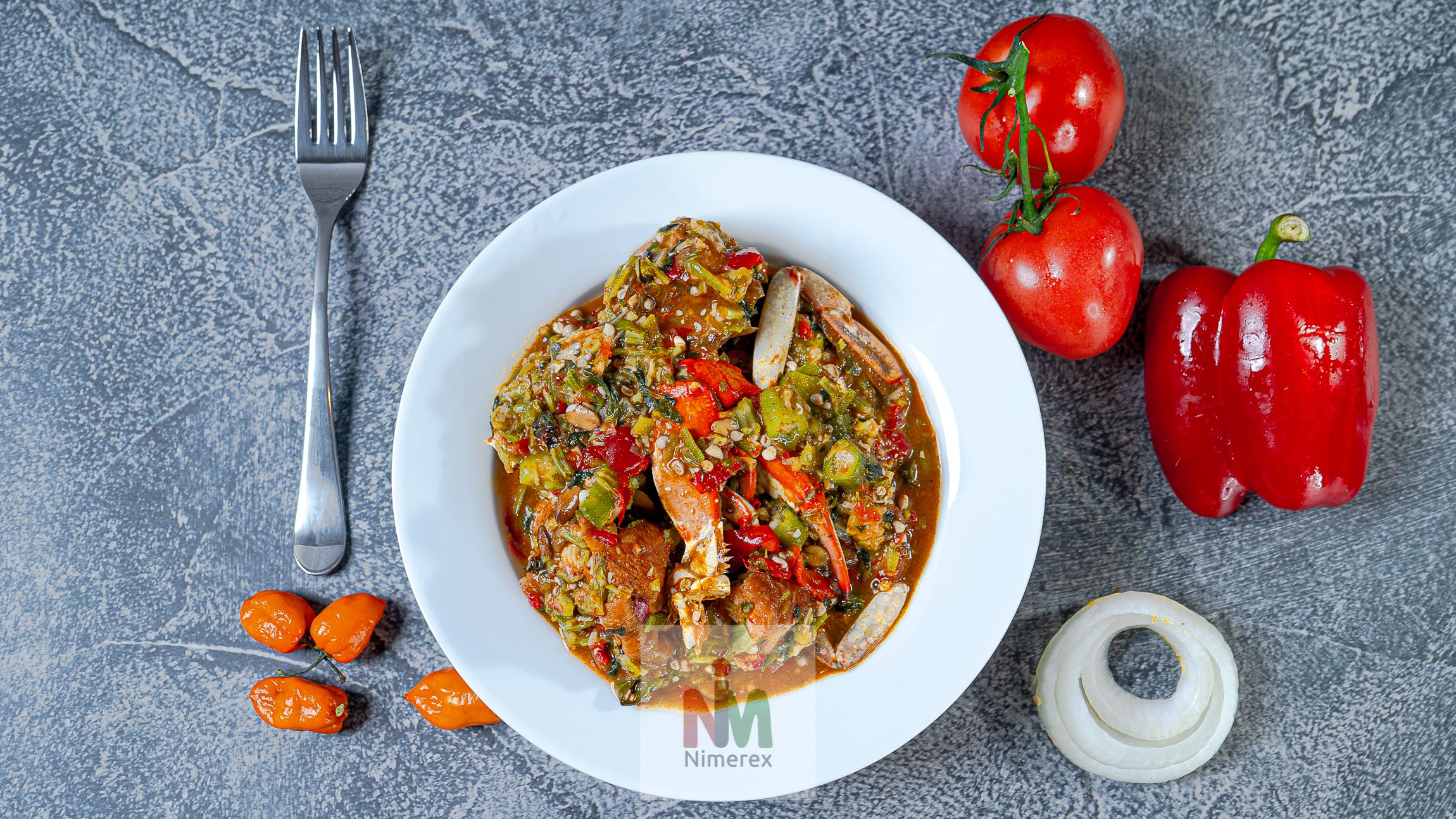 Okro Soup delivery to homes across America. See menu on nimerex.com
