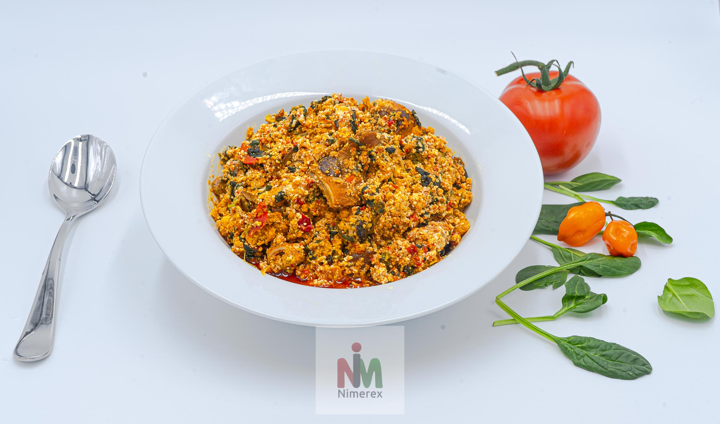 Nimerex Launches Egusi Soup delivery to homes across America. See menu on nimerex.com
