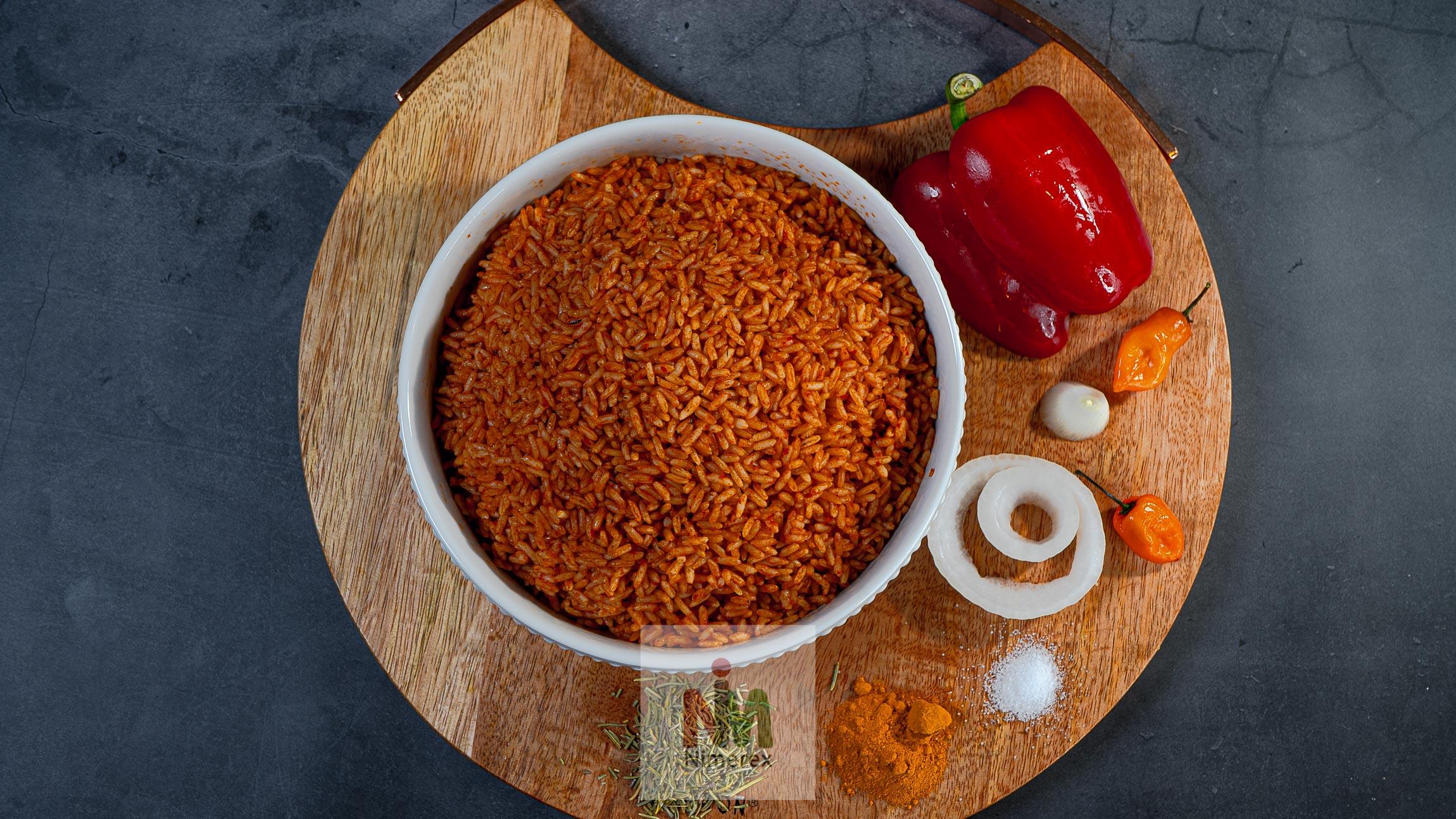 Nimerex now delivers Jollof Rice to homes across America.