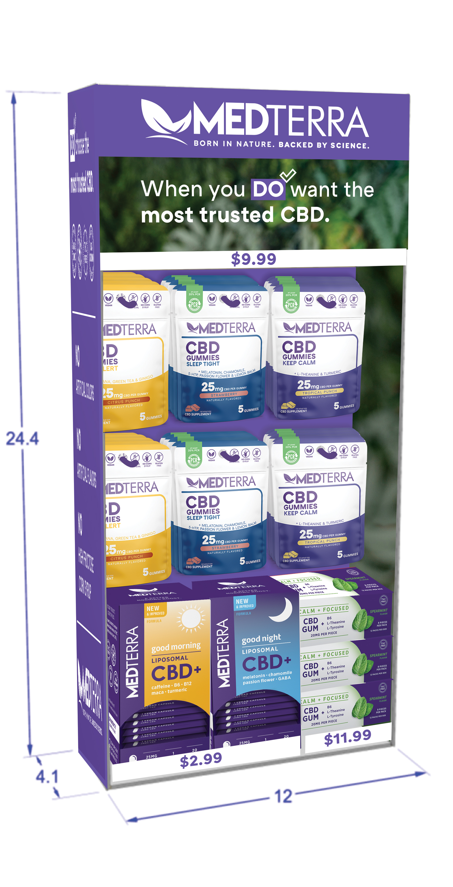 Medterra CBD is now offered Nationwide Through Mr. Checkout's Direct Store Delivery Distributors.