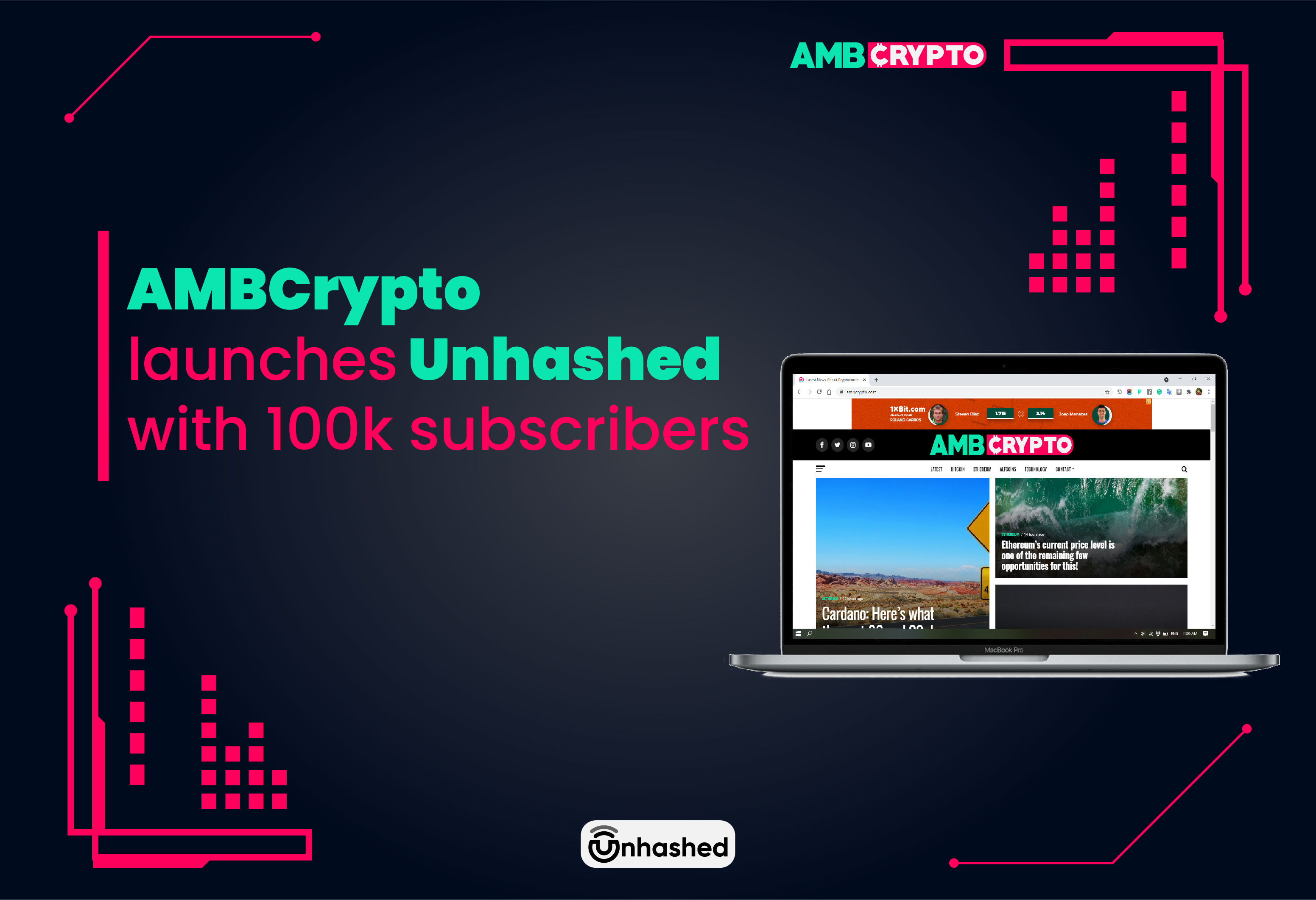 AMBCrypto launches Unhashed with 100k subscribers