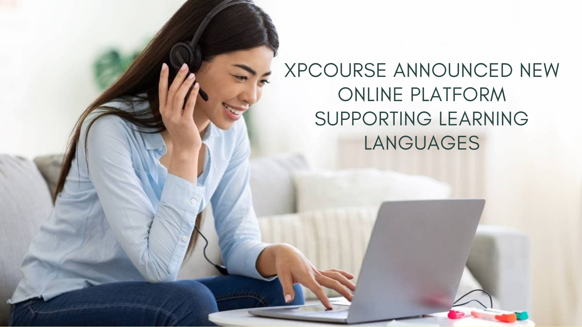 XpCourse announced new online platform supporting learning languages