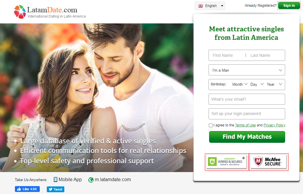 LatamDate: There's More Chance of Finding True Love Online