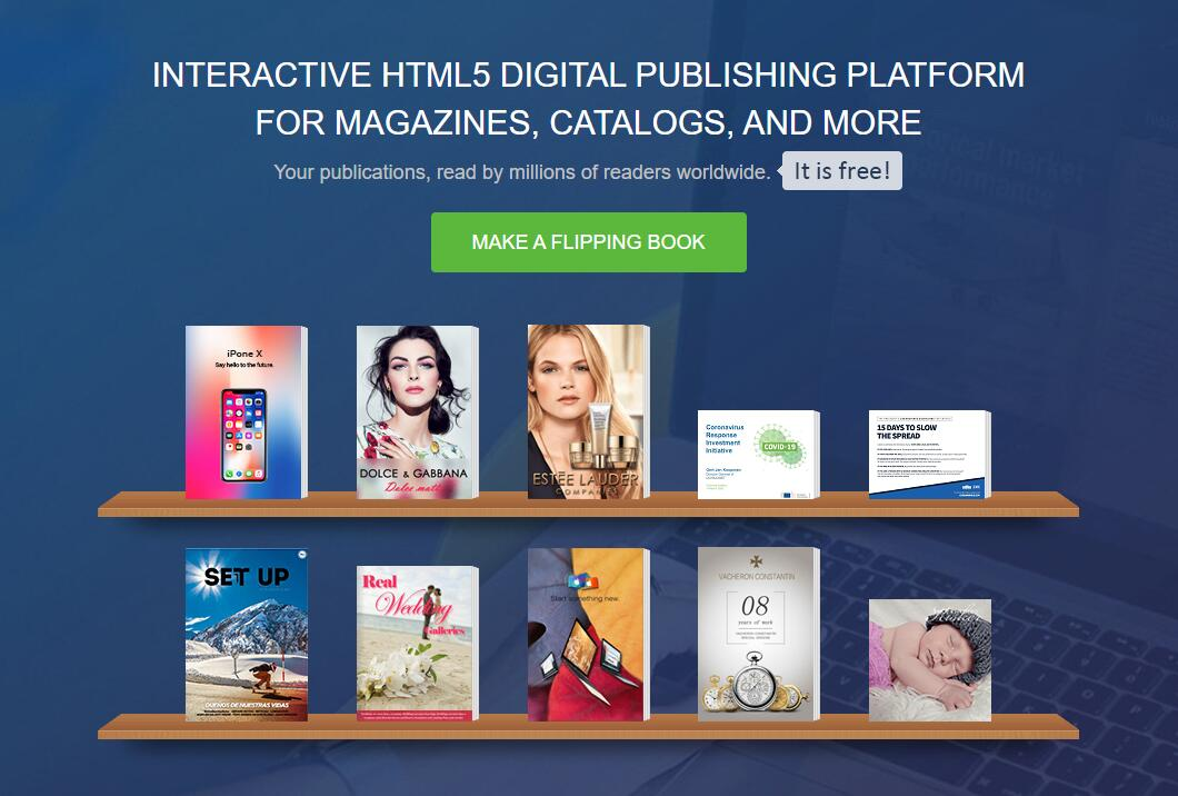 FlipHTML5 Helps E-commerce Businesses with Its Product Catalog Generator