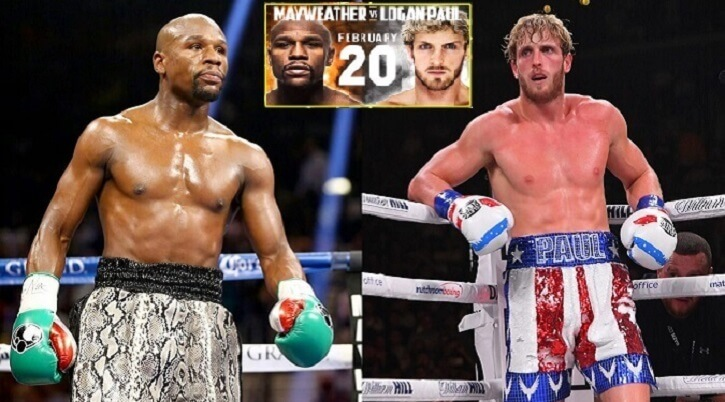 Floyd Mayweather vs Logan Paul fight will be on Fanmio date, time, And Ticket Information Available