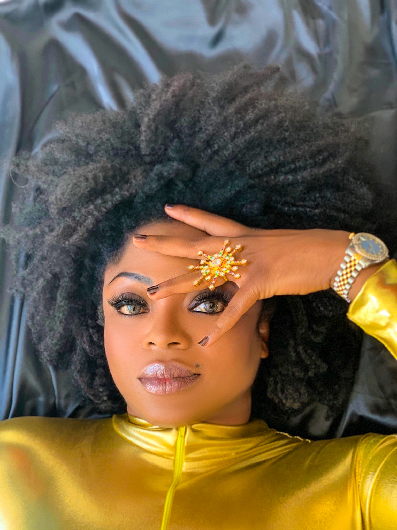 How Fashion Influencer Mamissa Mboob AKA TheColourMeMam is influencing women to wear more colour