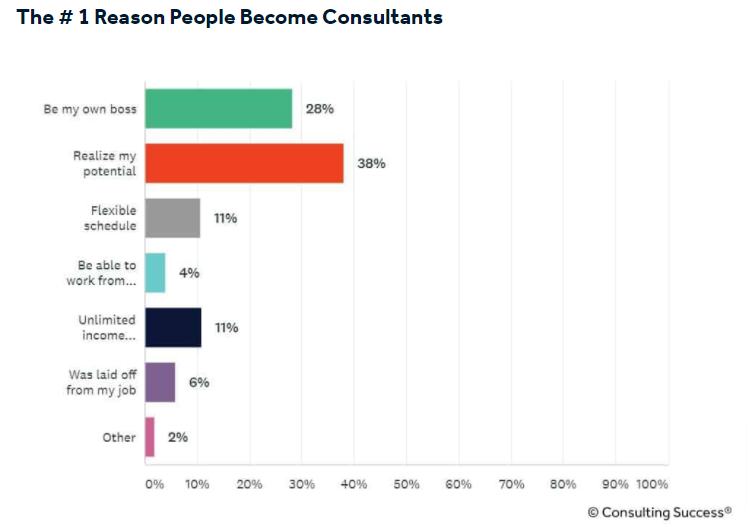 85% of Consultants Were Dissatisfied With Their Former Job: A New Study on How to Become a Consultant in 2021 Reveals