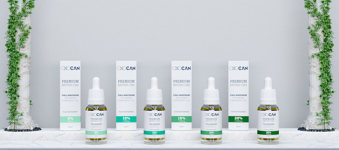 Oxocan Has Launched Its Premium CBD Products Line In The UK