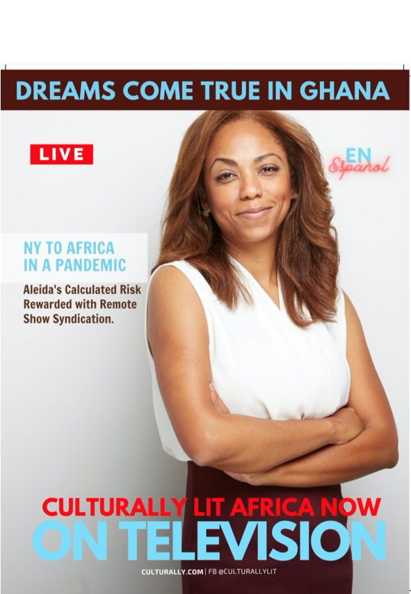 Aleida Castillo To Lit Up Ghana As Her Show Gets a Syndication Deal In The Country