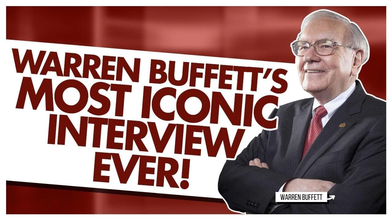 Warren Buffett's Most Iconic Interview Ever