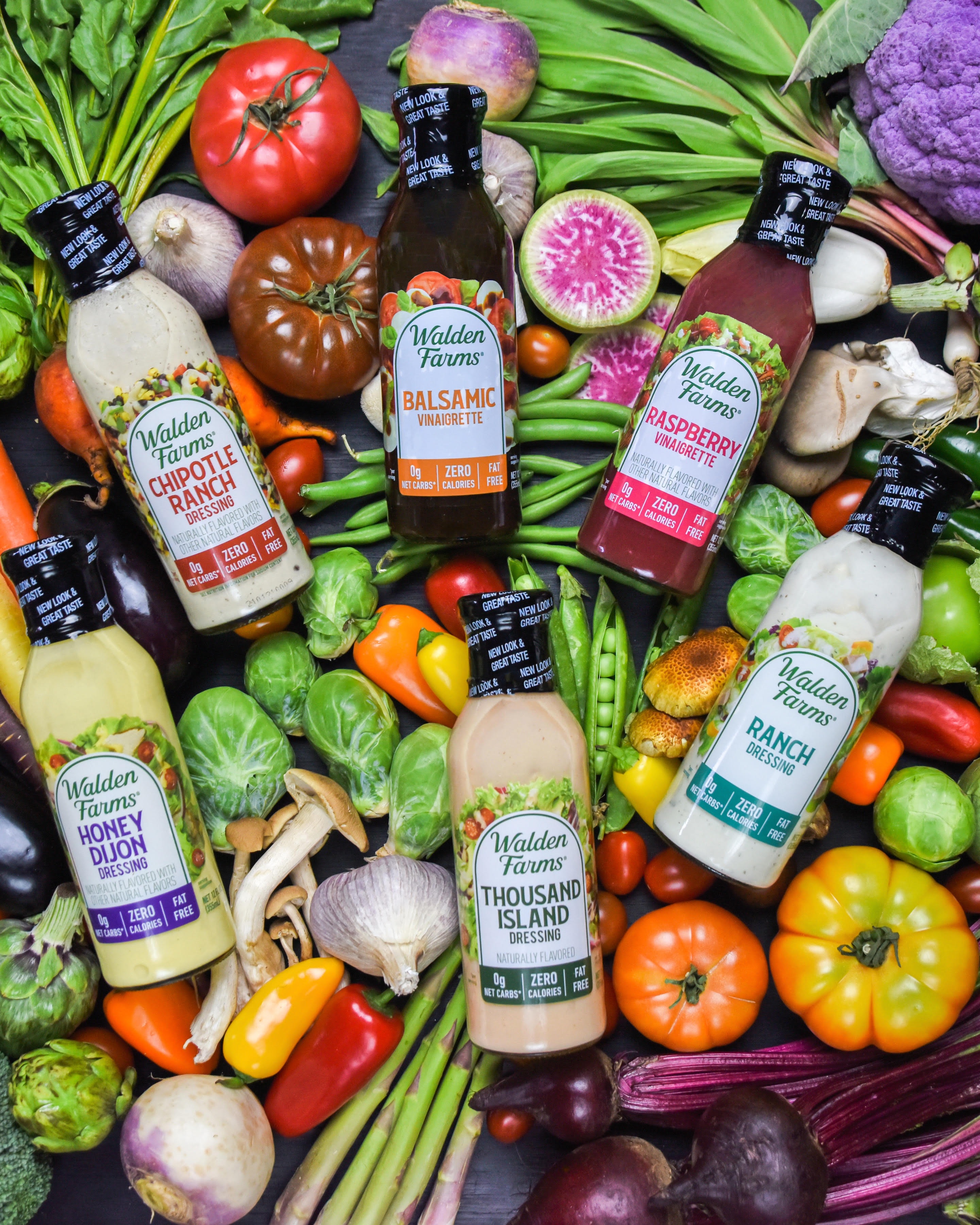 Walden Farms Announces Salad Dressings with Improved Ingredients and Natural Flavors Inside and New Look Outside - Bringing Unmatched Attributes to Consumers