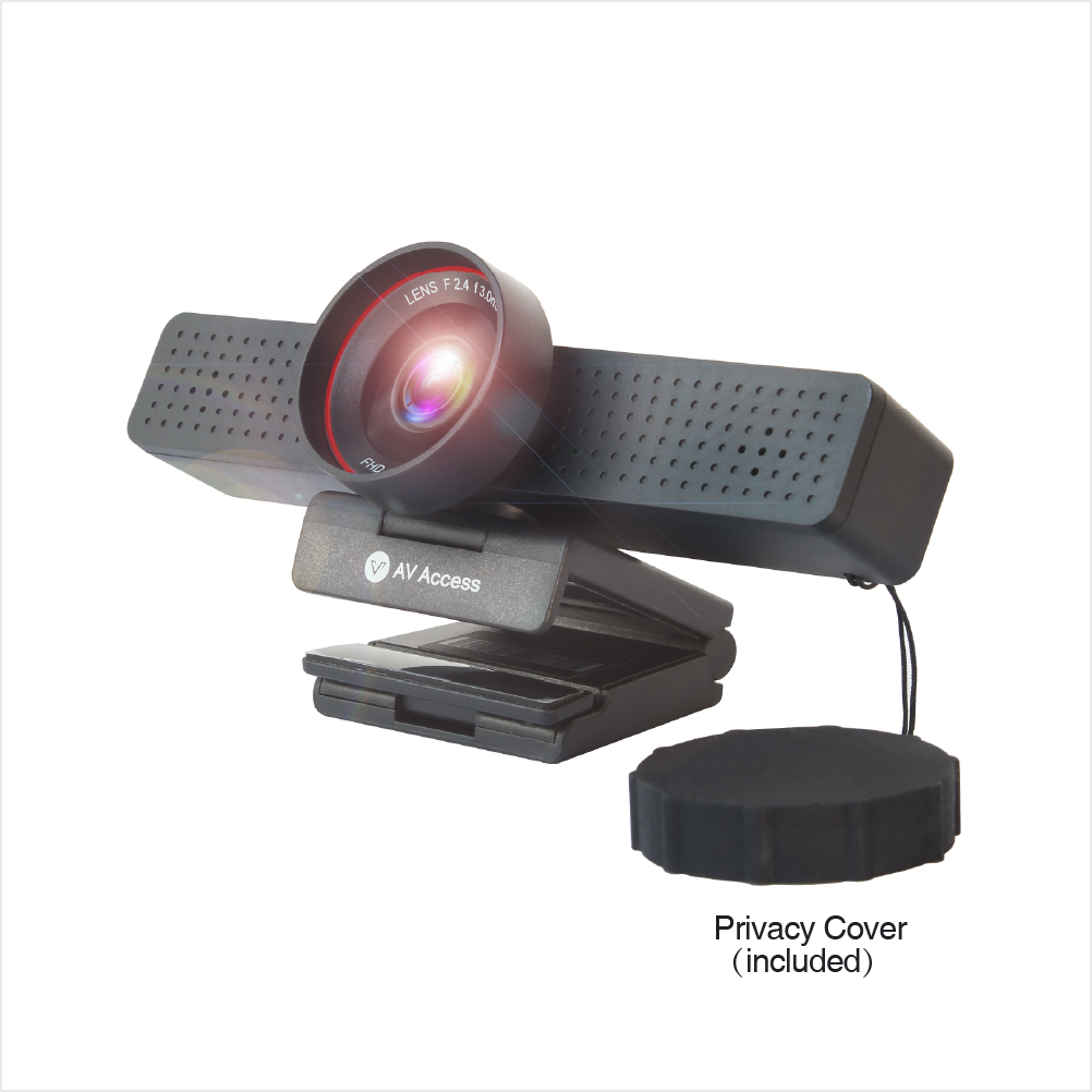 AV Access Introduces Its First 1080P Business Webcam for Easier Video Conference in Home Office and Meeting Room