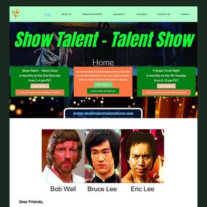 Grand Masters Bob Wall And Eric Lee To Appear On Show Talent - Talent Show, Invites People To Sign Up To Watch