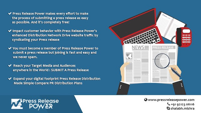 Pressreleasepower.com Provides Quick and Easy Press Release Distribution