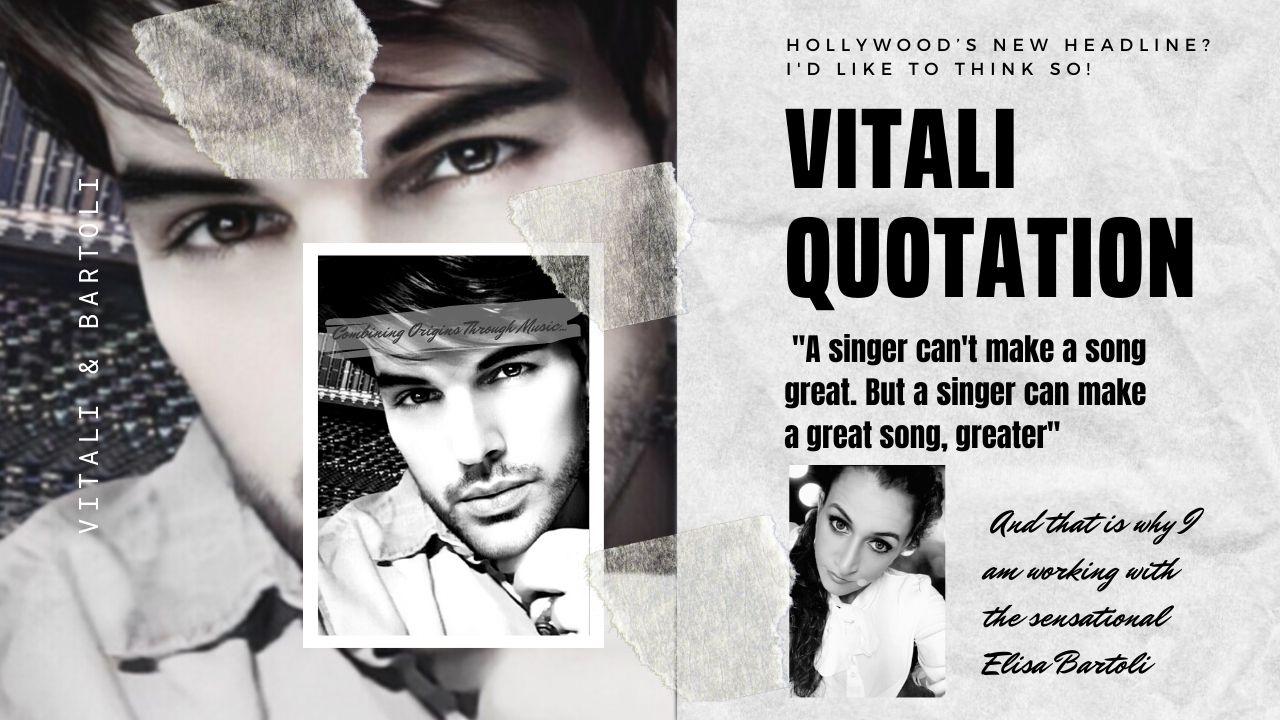 Talented Singer Elisa Bartoli Collaborates With Hollywood's Award-Winning Artist Steven Vitali