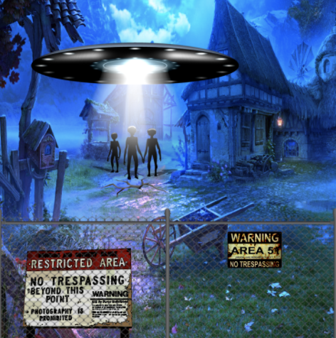 2021 is the Year of the UFO and Artists Around the World are Documenting It