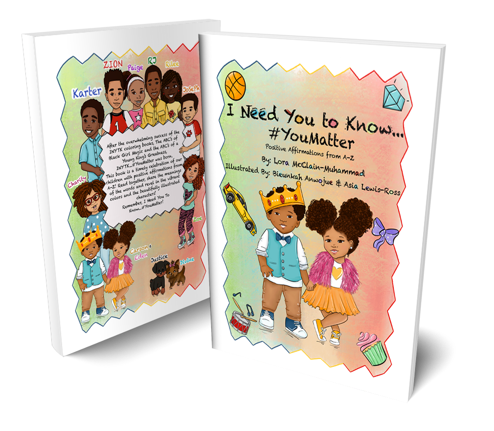 Best Selling Indie Children's Author Lora McClain-Muhammad's HardCover Book Set To Launch.