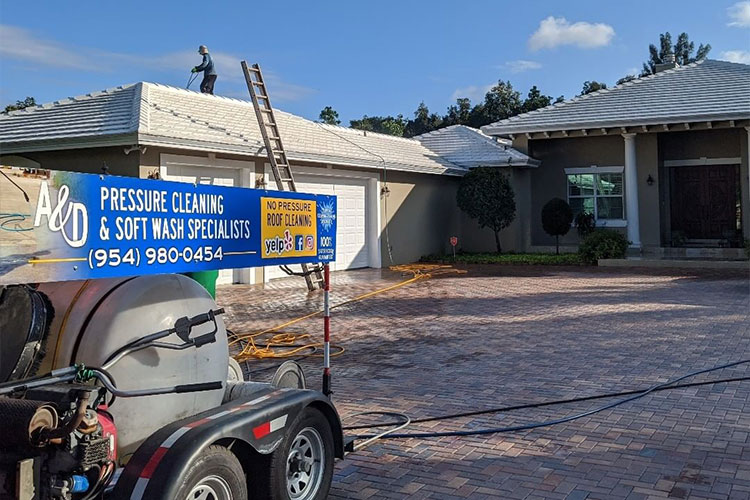 A & D Pressure Cleaning Adds Roof Repairing to its Professional Service Line-Up