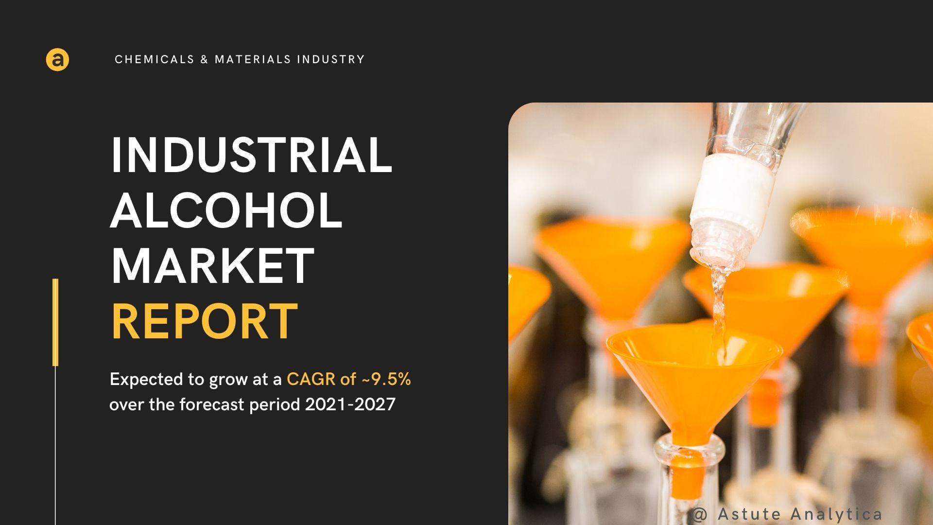 Exclusive research report on industrial alcoholmarket 2021; Major players - Cargill Inc., Raizen Energia, Cristalco SAS, etc