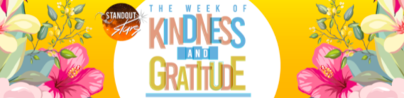Week of Kindness and Gratitude with Standout Stars Happening June 20 - 26